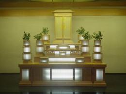 大和斎場・日蓮正宗祭壇