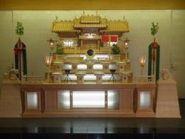 大和斎場・神式祭壇