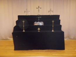 大和斎場・キリスト式祭壇