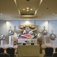 大和斎場・花暦・愛情いっぱいの生花&大和斎場既設白木祭壇